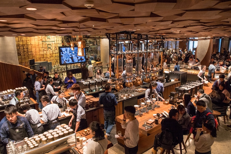 The Remarkable Rise Of Starbucks In China Institute Of Hospitality