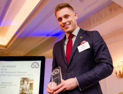 Tomas Kubart named 2019 UK Restaurant Manager of the Year