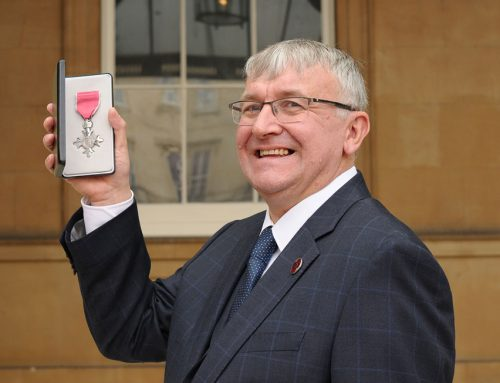 David McKown FIH receives MBE