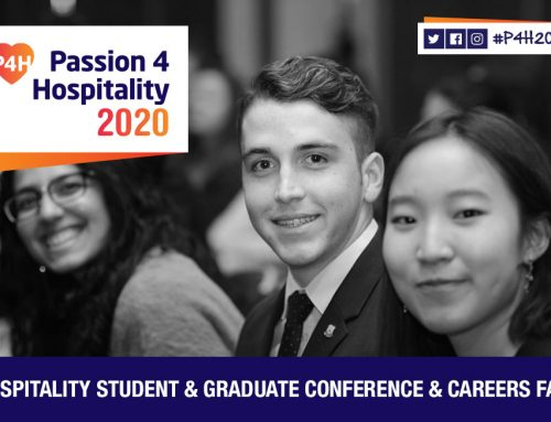 Hospitality employers invited to exhibit at Passion 4 Hospitality 2020