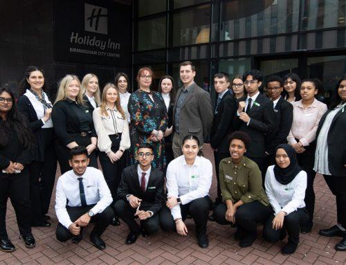 Birmingham students takeover popular city centre hotel