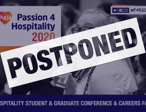 Passion4Hospitality has been postponed and will not be taking place on 9 March