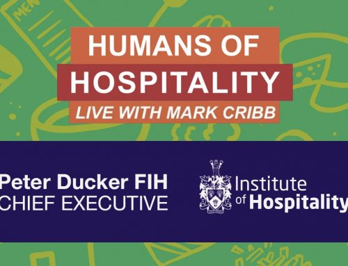 Peter Ducker FIH talks to Mark Cribb on the Humans of Hospitality podcast