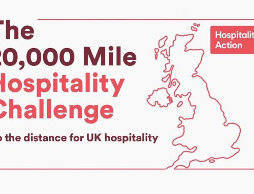 The 20,000 mile hospitality challenge