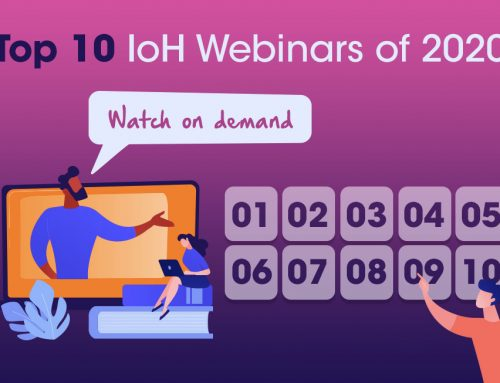 The top 10 IoH webinars of 2020