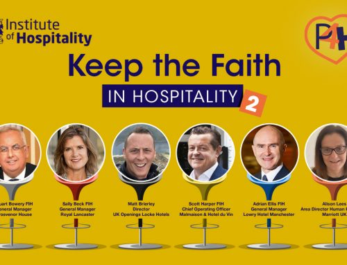 Top hoteliers to urge students to keep faith in hospitality as first career choice